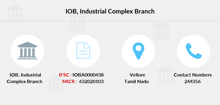 Indian-overseas-bank Industrial-complex branch