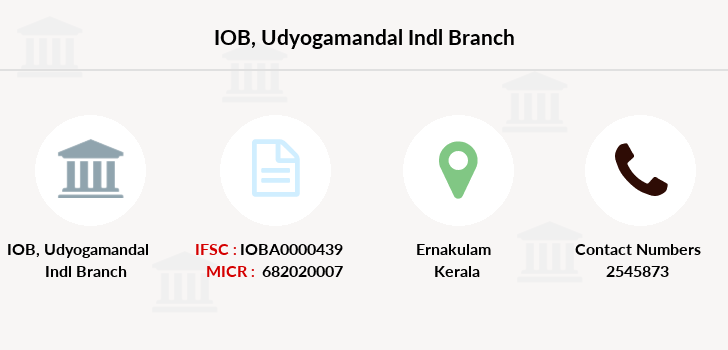 Indian-overseas-bank Udyogamandal-indl branch