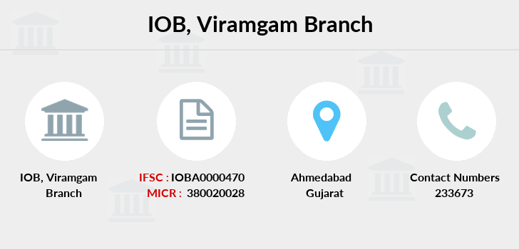 Indian-overseas-bank Viramgam branch