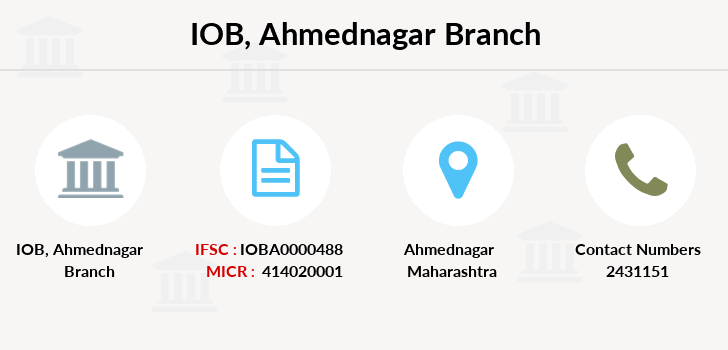 Indian-overseas-bank Ahmednagar branch