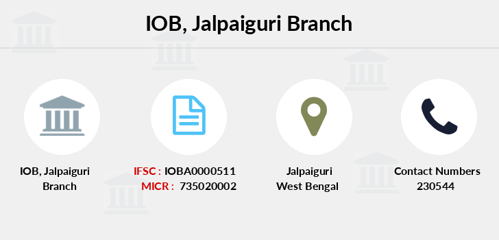 Indian-overseas-bank Jalpaiguri branch