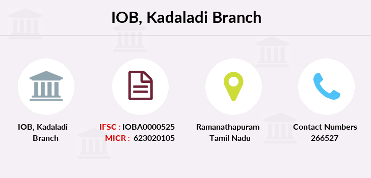 Indian-overseas-bank Kadaladi branch