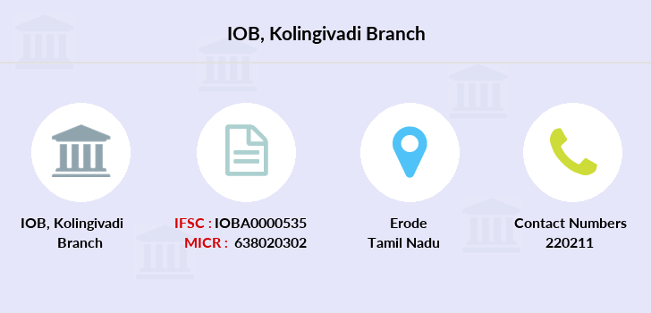 Indian-overseas-bank Kolingivadi branch