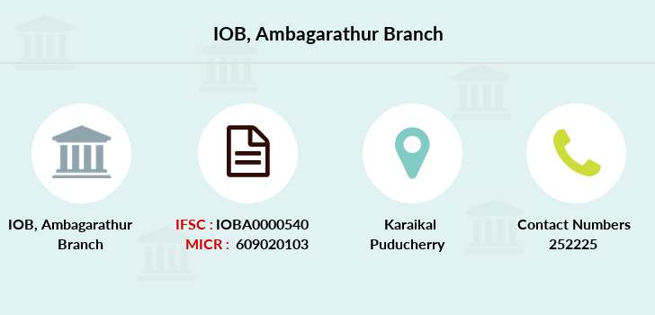 Indian-overseas-bank Ambagarathur branch