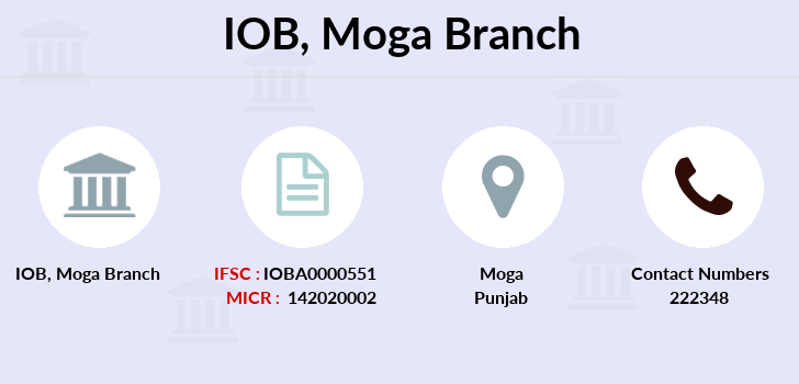 Indian-overseas-bank Moga branch