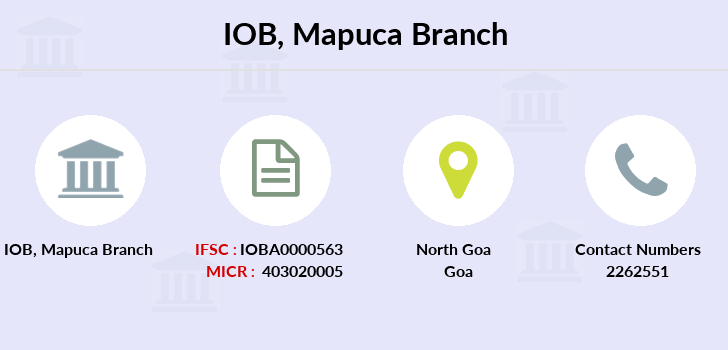 Indian-overseas-bank Mapuca branch