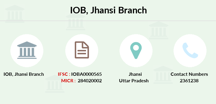 Indian-overseas-bank Jhansi branch