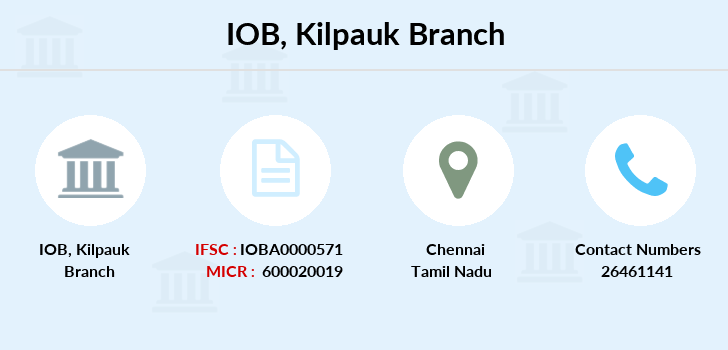 Indian-overseas-bank Kilpauk branch