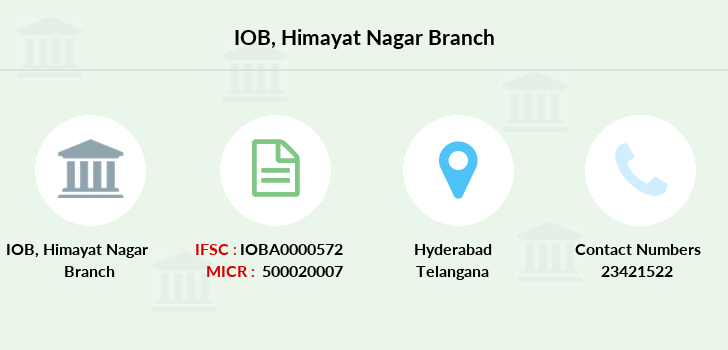 Indian-overseas-bank Himayat-nagar branch