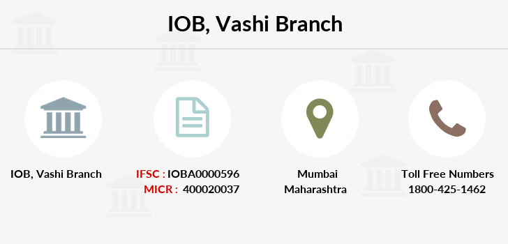 Indian-overseas-bank Vashi branch
