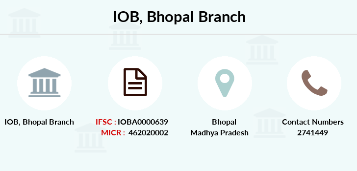 Indian-overseas-bank Bhopal branch