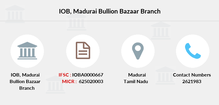 Indian-overseas-bank Madurai-bullion-bazaar branch