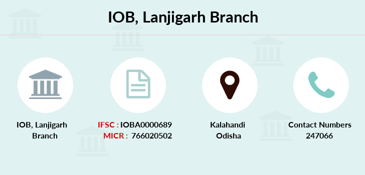 Indian-overseas-bank Lanjigarh branch