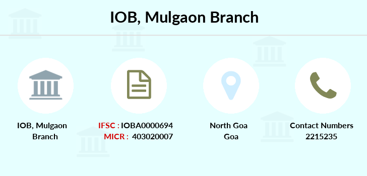 Indian-overseas-bank Mulgaon branch