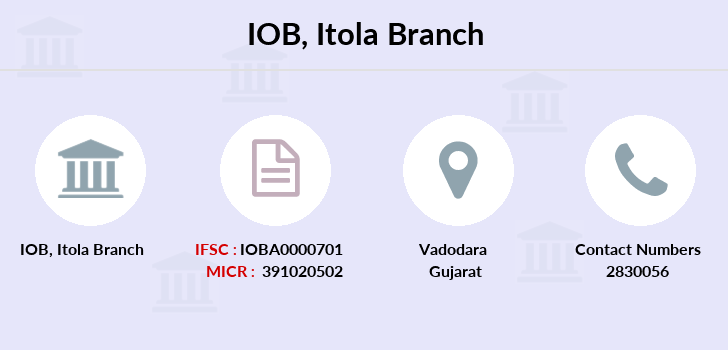 Indian-overseas-bank Itola branch