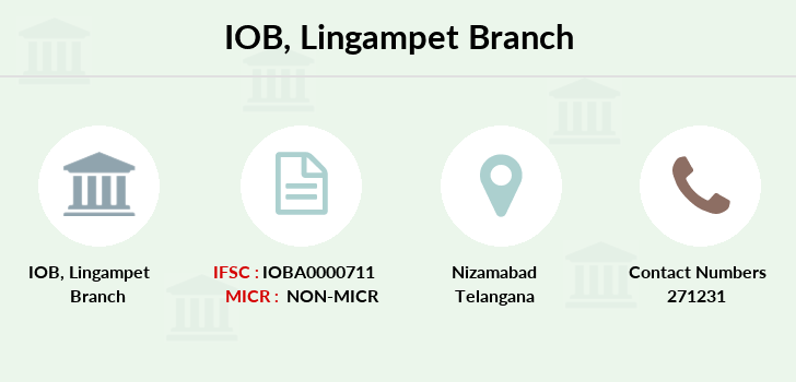 Indian-overseas-bank Lingampet branch