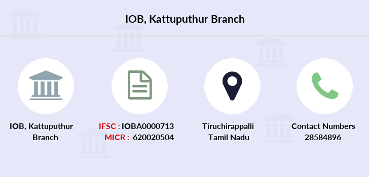 Indian-overseas-bank Kattuputhur branch