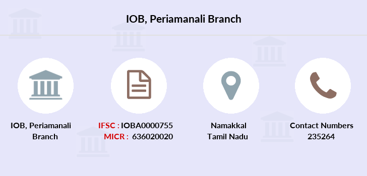 Indian-overseas-bank Periamanali branch