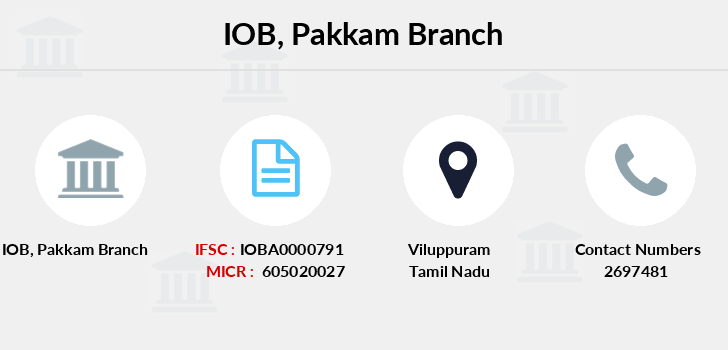Indian-overseas-bank Pakkam branch
