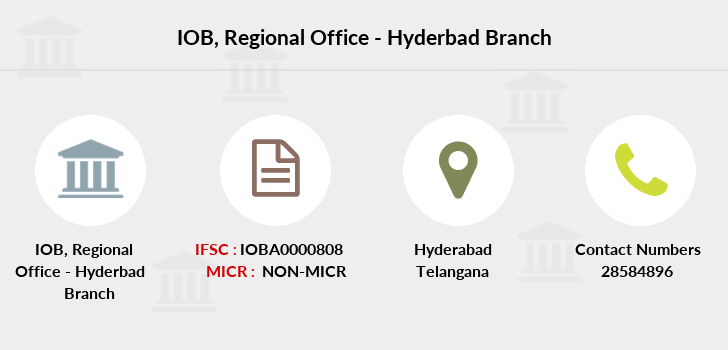 Indian-overseas-bank Regional-office-hyderbad branch