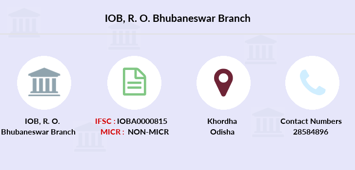 Indian-overseas-bank R-o-bhubaneswar branch