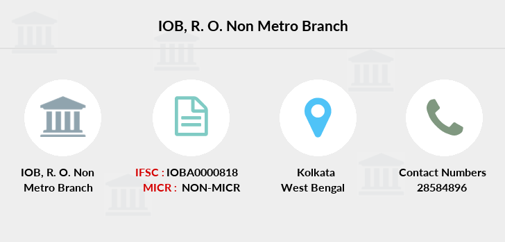 Indian-overseas-bank R-o-non-metro branch