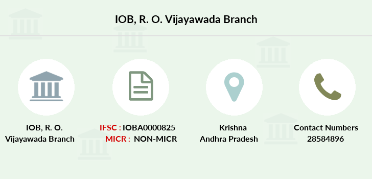 Indian-overseas-bank R-o-vijayawada branch