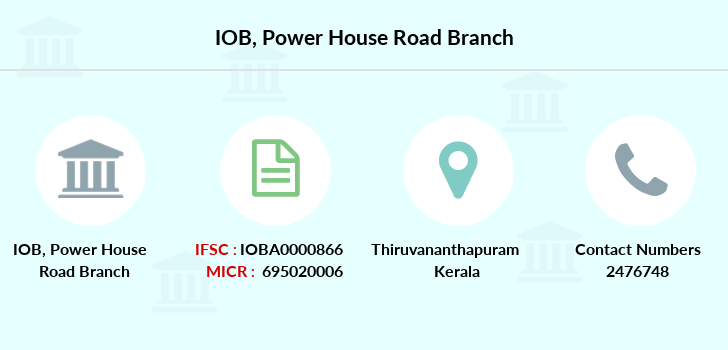Indian-overseas-bank Power-house-road branch