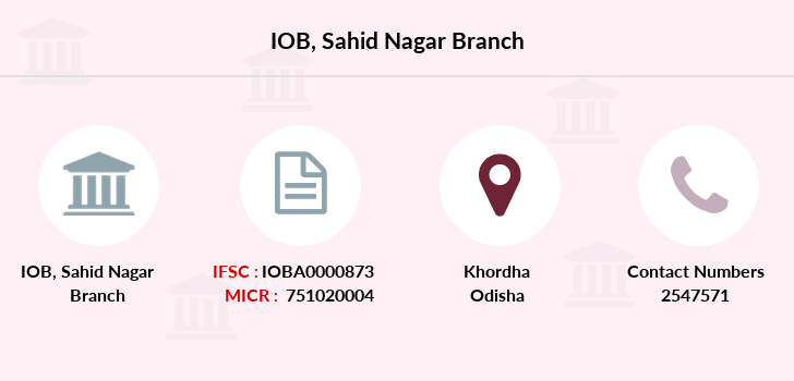 Indian-overseas-bank Sahid-nagar branch