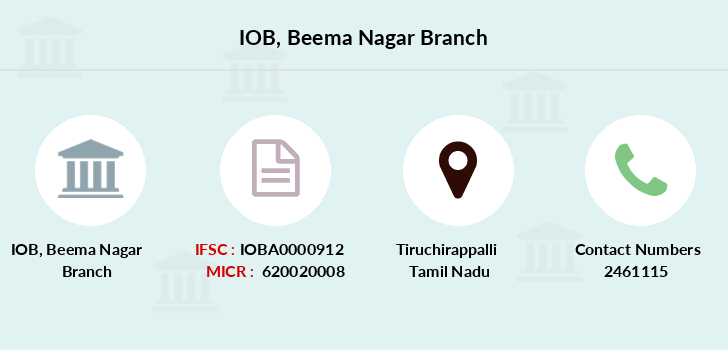 Indian-overseas-bank Beema-nagar branch