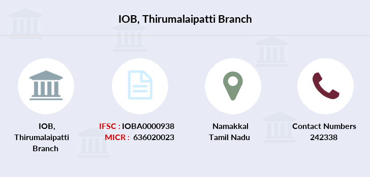 Indian-overseas-bank Thirumalaipatti branch
