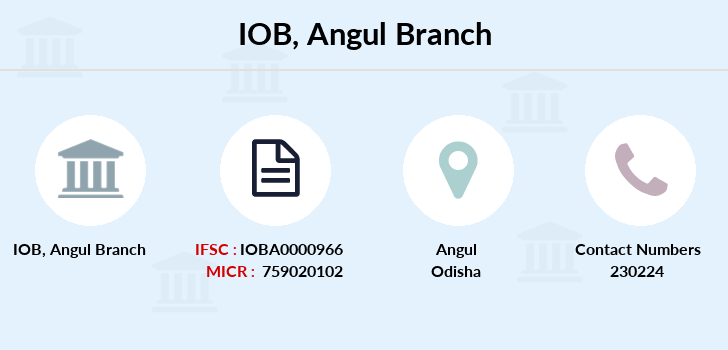 Indian-overseas-bank Angul branch