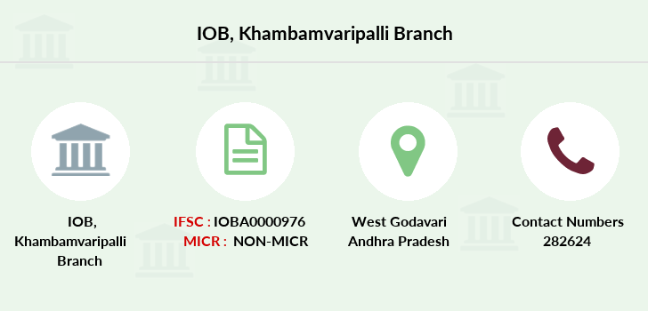 Indian-overseas-bank Khambamvaripalli branch