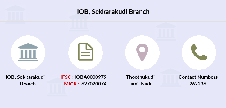Indian-overseas-bank Sekkarakudi branch