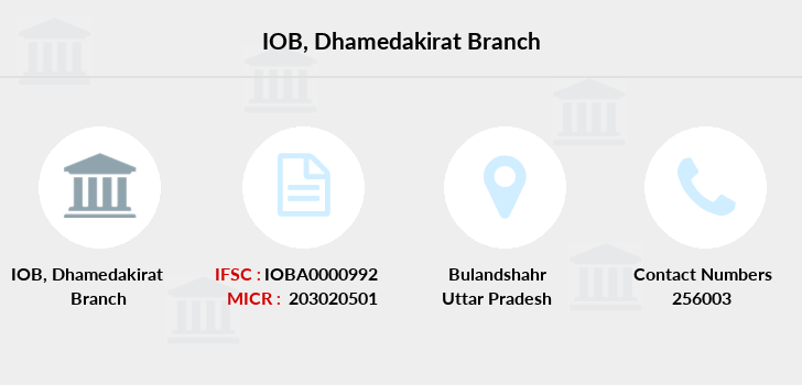 Indian-overseas-bank Dhamedakirat branch