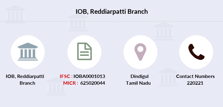 Indian-overseas-bank Reddiarpatti branch