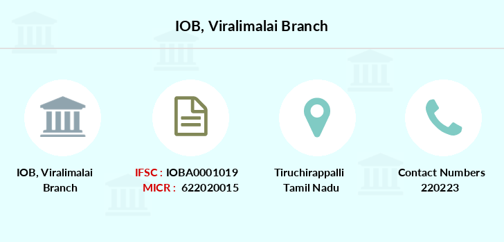 Indian-overseas-bank Viralimalai branch