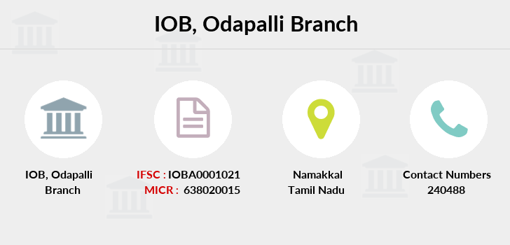Indian-overseas-bank Odapalli branch