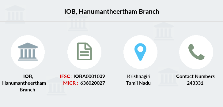 Indian-overseas-bank Hanumantheertham branch