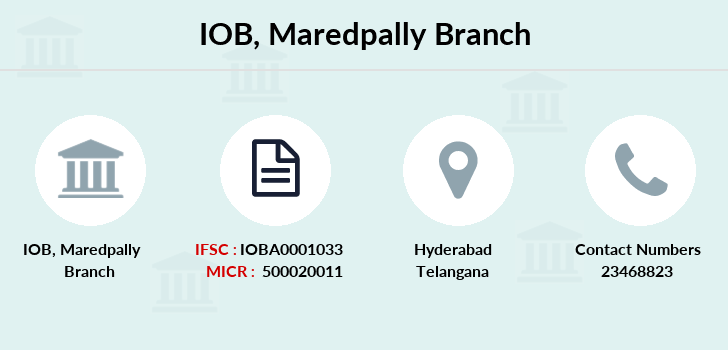 Indian-overseas-bank Maredpally branch