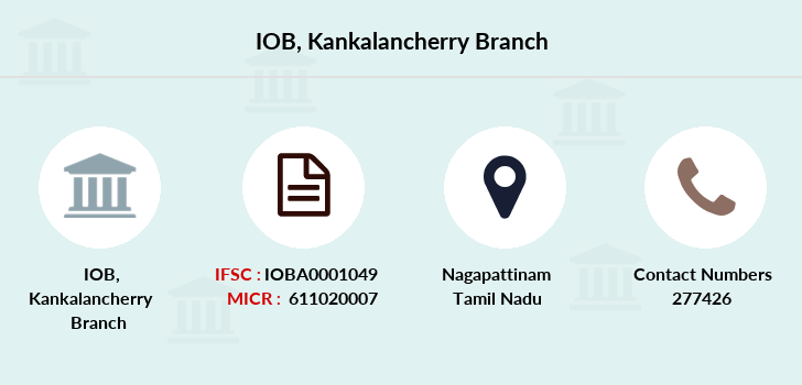 Indian-overseas-bank Kankalancherry branch