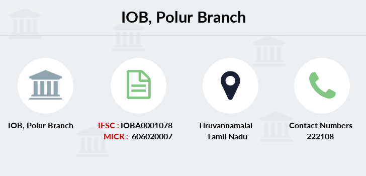 Indian-overseas-bank Polur branch
