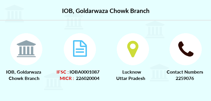 Indian-overseas-bank Goldarwaza-chowk branch