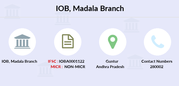 Indian-overseas-bank Madala branch