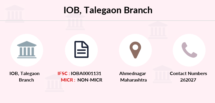 Indian-overseas-bank Talegaon branch