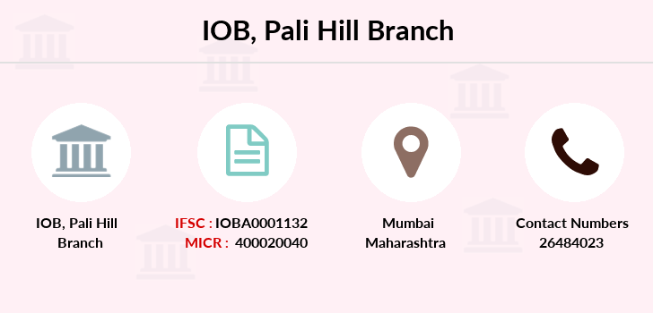 Indian-overseas-bank Pali-hill branch