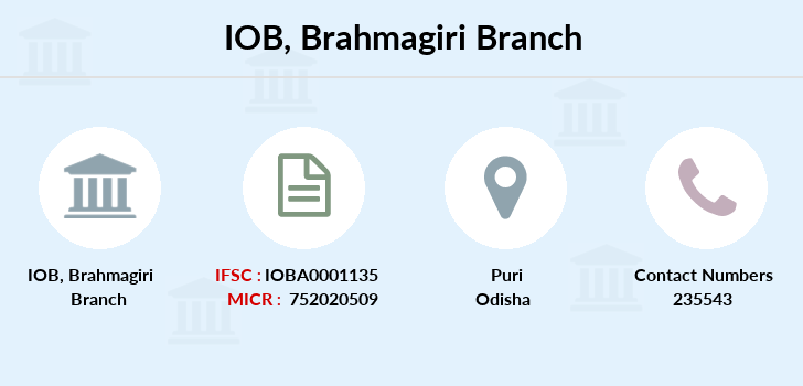 Indian-overseas-bank Brahmagiri branch