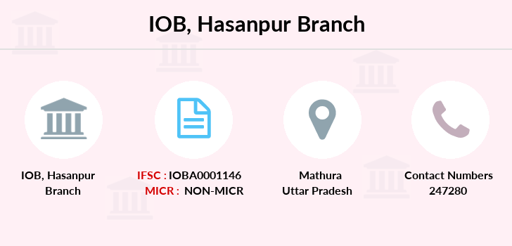 Indian-overseas-bank Hasanpur branch
