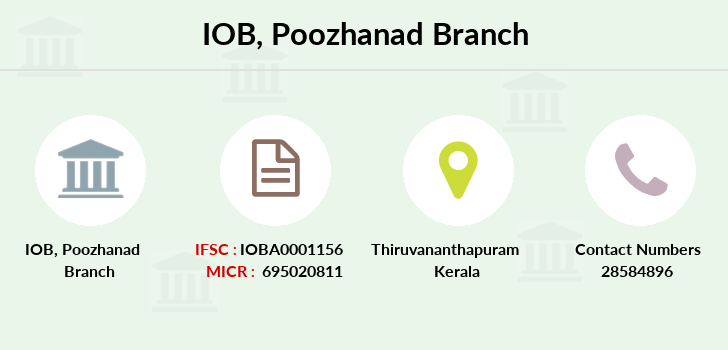Indian-overseas-bank Poozhanad branch