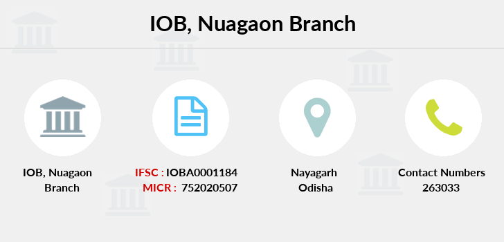 Indian-overseas-bank Nuagaon branch